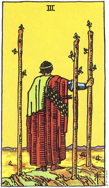Three Of Wands Thoth Tarot Card Tutorial
