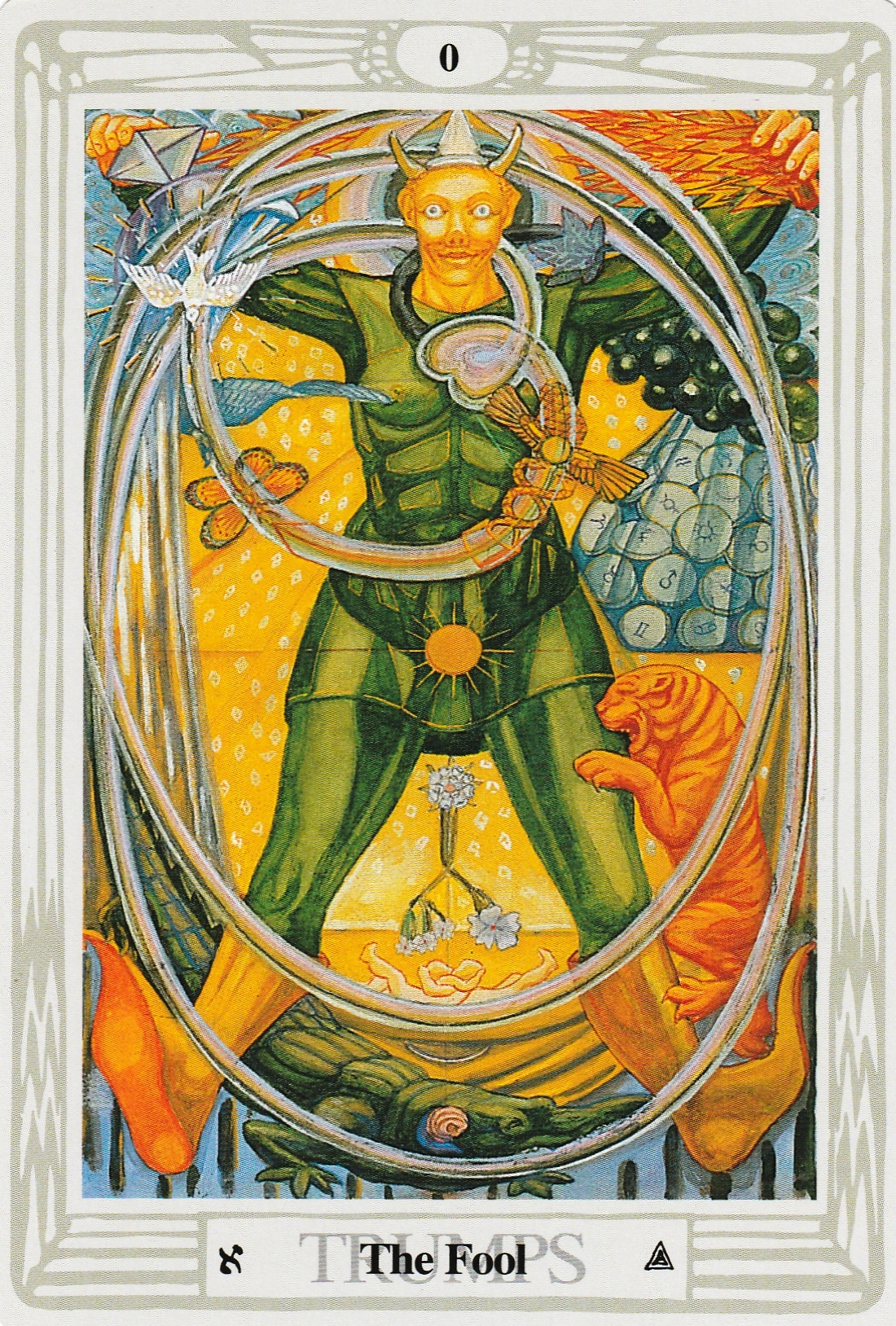 Thoth Fool Tarot Card Tutorial