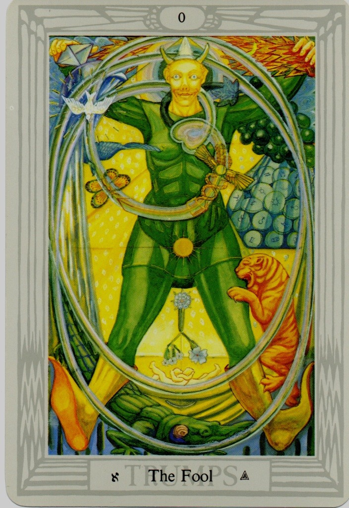 Thoth Fool Tarot Card Tutorial - Esoteric Meanings