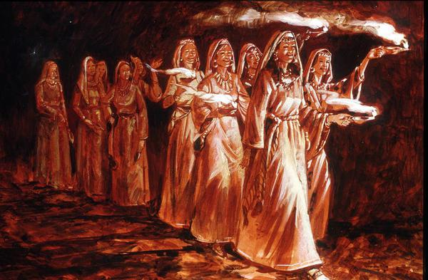 Ten Virgins Parable Esoteric Meanings