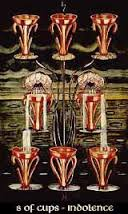 Eight of Cups Thoth Tarot Card Tutorial - Esoteric Meanings