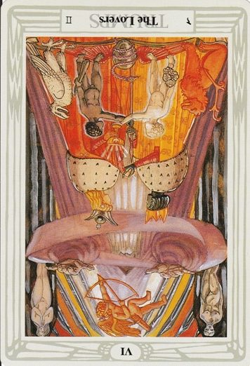 Thoth Lovers Tarot Card Tutorial - Esoteric Meanings