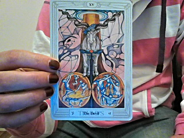 Thoth Devil Tarot Card Tutorial Esoteric Meanings