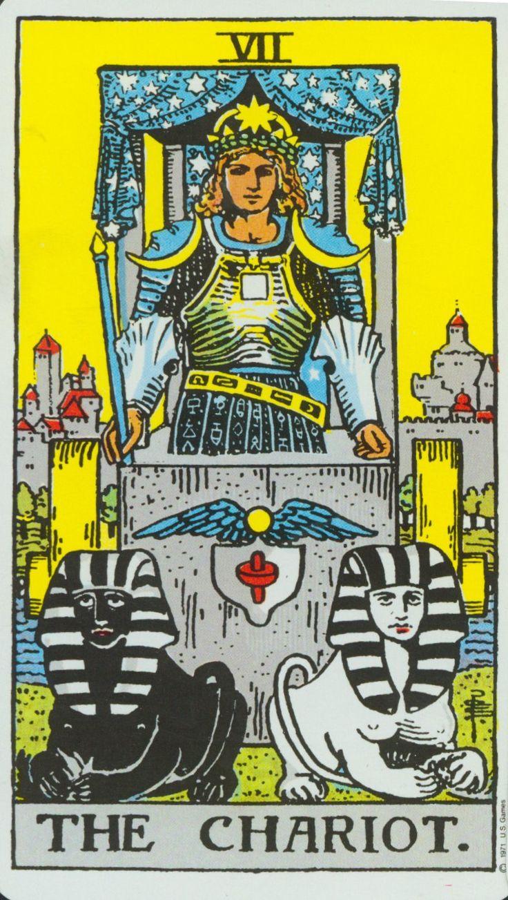 Thoth Chariot Tarot Card Tutorial