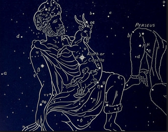 an introduction to auriga the charioteer constellation Auriga is one of the 88 modern constellations it was among the 48 constellations  listed by the  jacob micyllus depicted auriga in his hyginus of 1535 as a  charioteer with a two-wheeled cart, powered by two horses and  this  constellation was introduced by maximilian hell to honor william herschel's  discovery of uranus.