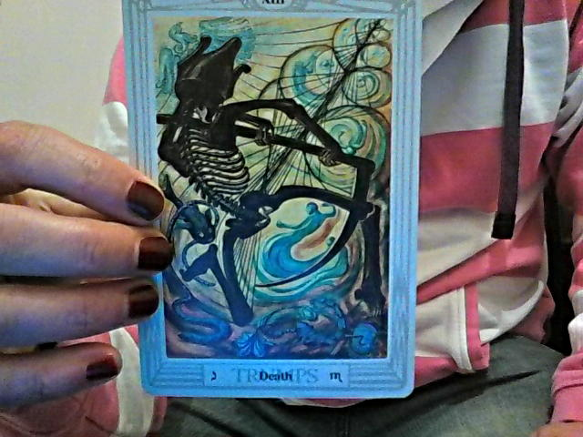 Thoth Death Tarot Card Tutorial - Esoteric Meanings