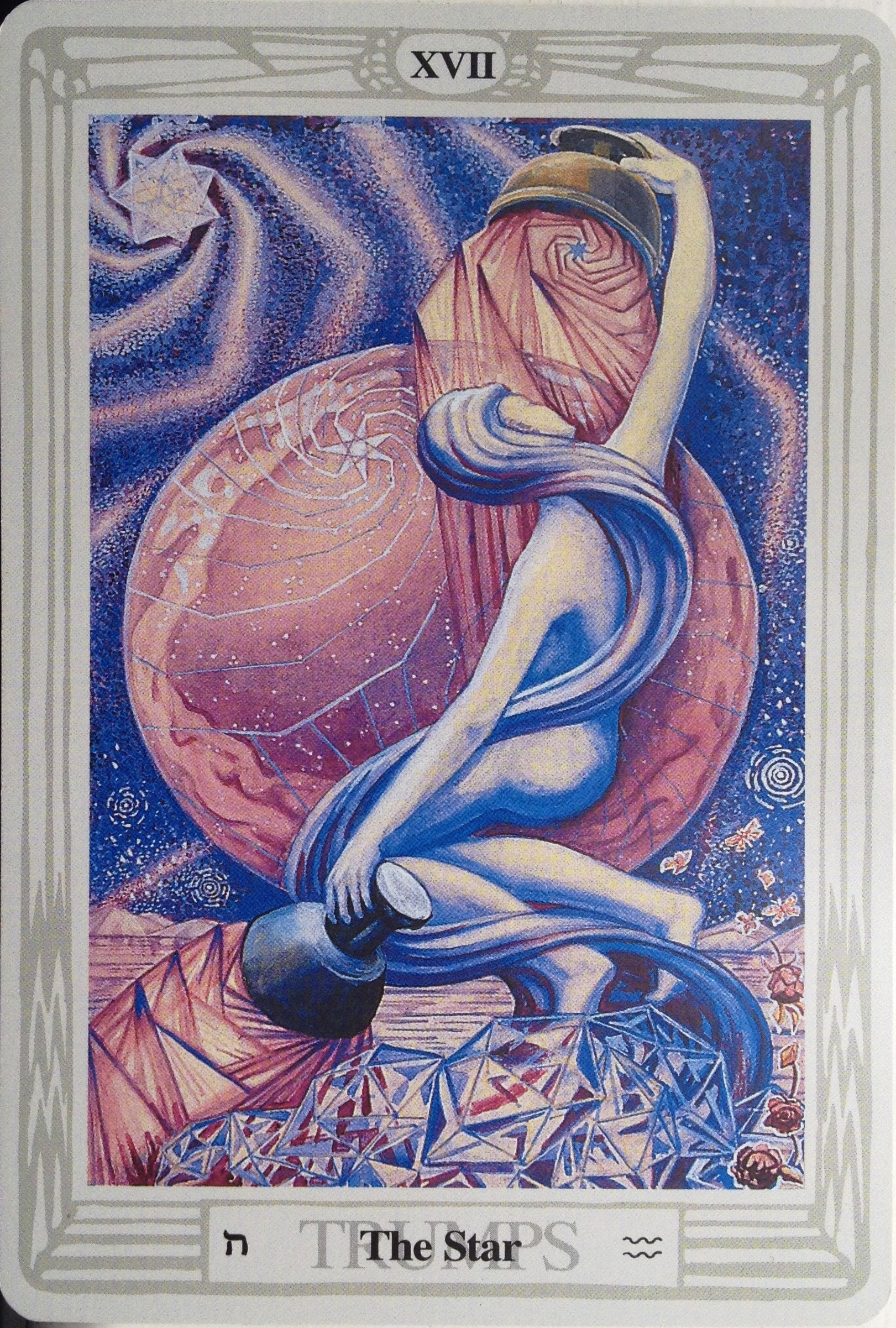 Thoth Star Tarot Card Tutorial - Esoteric Meanings