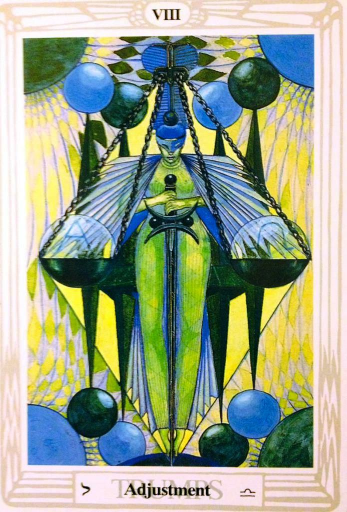 Major Arcana Tarot Card Meaning According To: Thoth Aeon Tarot Card Tutorial