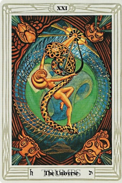 Thoth Universe Tarot Card Tutorial Esoteric Meanings