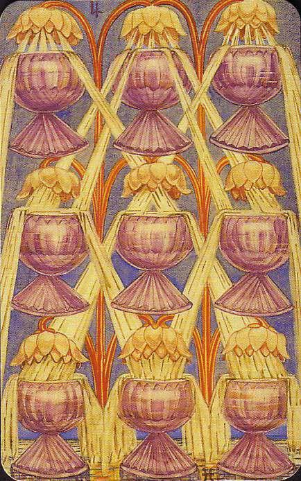 Resultado de imagem para 9 of cups tarot